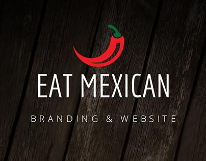 Eat Mexican - Branding & Website