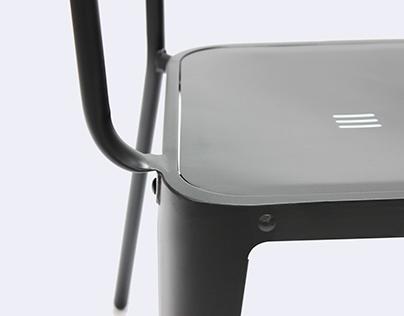 le fauteuil industriel on behance. Black Bedroom Furniture Sets. Home Design Ideas