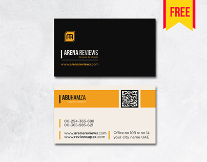 Elegant #businesscard Template Free