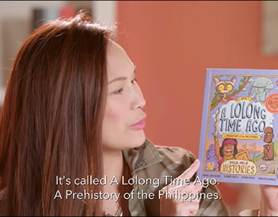 Peek-A-Book: A Lolong Time Ago