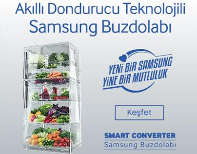 Samsung Refrigerator Html5 Banner