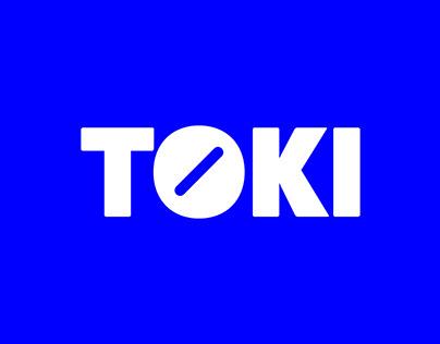 Toki // watch branding