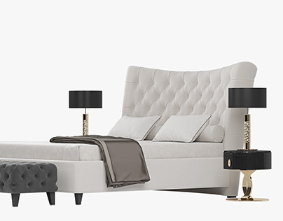 BERENICE Bed By Opera Contemporary