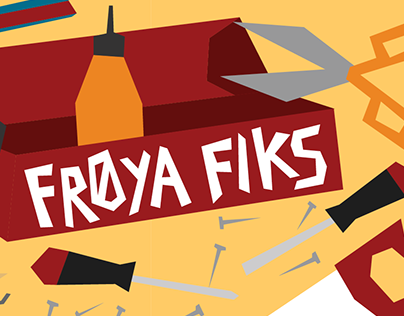 Frøya Fiks illustrated story and activity book