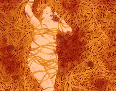 Editorial Illustration - Food Addiction
