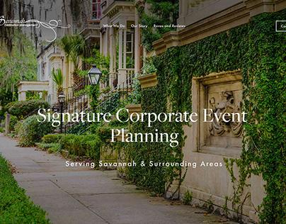 Savannah Destination Management Website