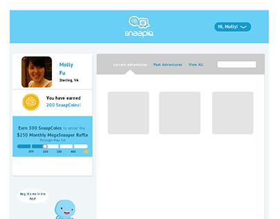 UI design project - desktop & mobile responsive