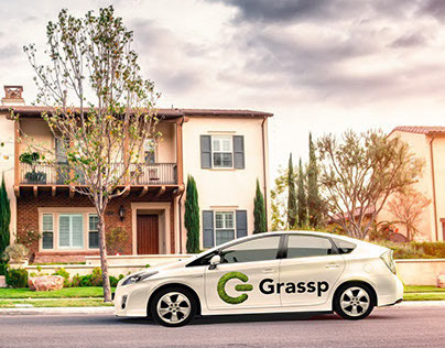 Grassp - The First Legal Cannabis Delivery App Design