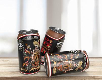 Heineken Beer Packaging (Re Design)