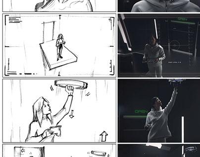 UNOX - Storyboard