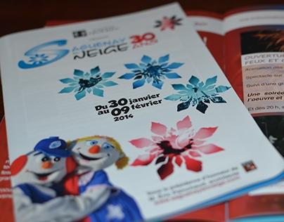Programme souvenir Saguenay en Neige