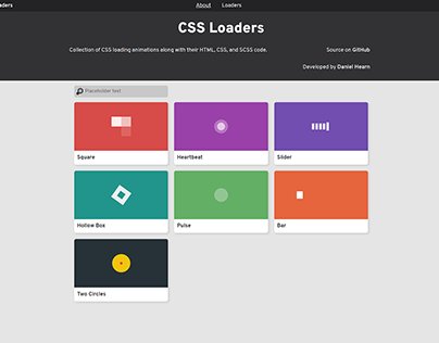 CSS Loaders Version 2