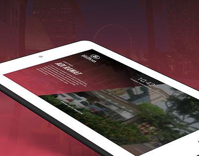 Hotel Booking | Tablet App
