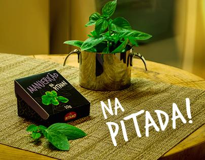 Na Pitada! | Embalagem