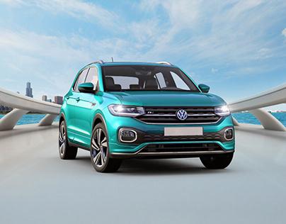 Volkswagen T-cross concept campaign