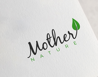 Logo Design for ''Mother Nature'' Company