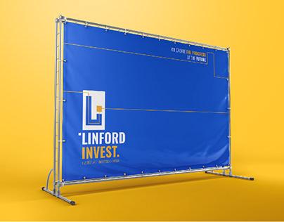 Linford invest. vol 2. Logo & identity.