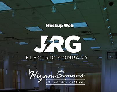 Mockup Web - JRG Electric Company