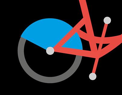 City of Nantes's bikes - Visual identity