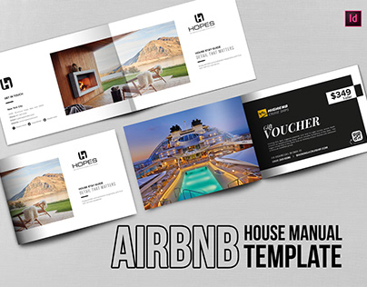 Airbnb House Manual Template/Welcome Book