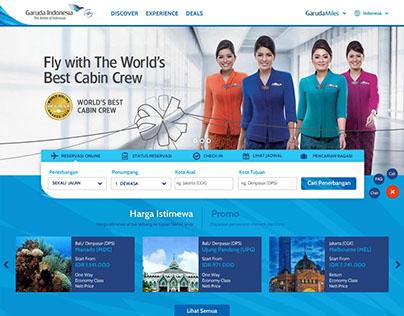 Garuda Indonesia Website