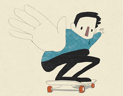 Skater - personal animation