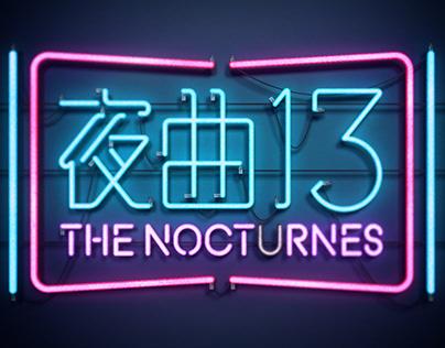 The Nocturnes 夜曲 13 - Title Logo Design