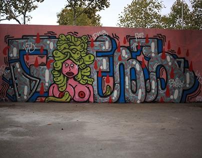 Graffiti Walls selection - 2013-2016