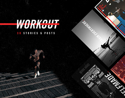 WORKOUT - Social Media Template
