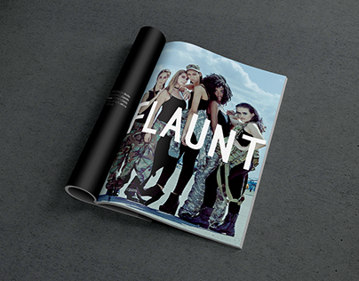 (Mock) Flaunt Magazine
