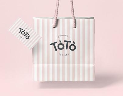 TòTò Ice Bar / Branding