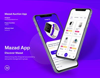 Mazad Auction App
