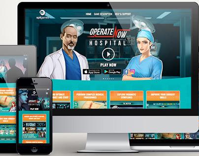 Operate Now: Hospital Wordpress template