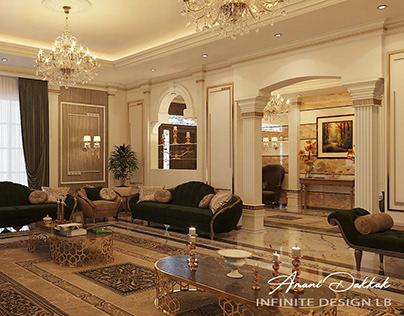 New Classic Home Interior Design By Infinite Design lb