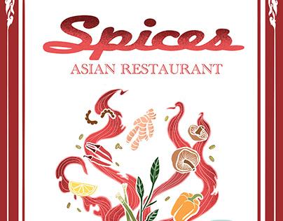 Spices Redesign Menu