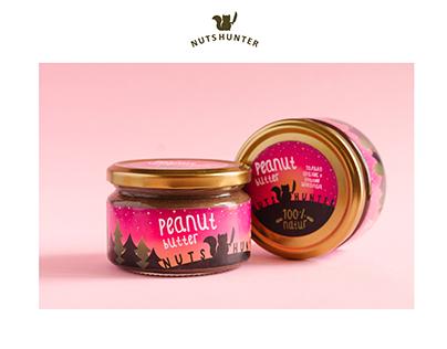 Нейминг, лого и упаковка для арахисовой пасты