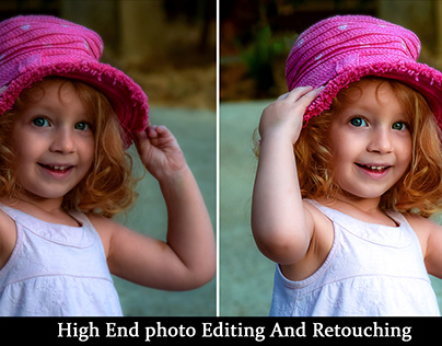 Photo Retouching & Photo Editing