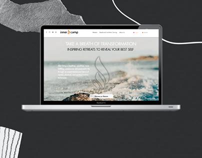 Wellness retreats • Web design