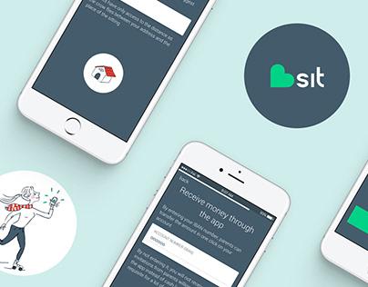 Mobile UI Design: Bsit App for all babysitting needs.