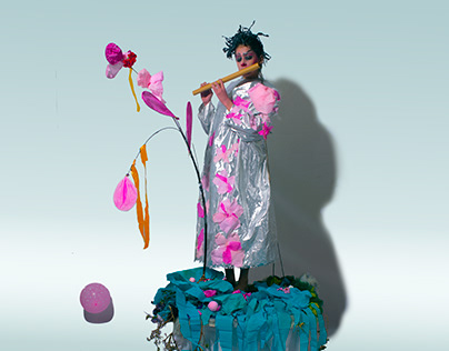 Photograph Recreation- Björk by Tim Walker