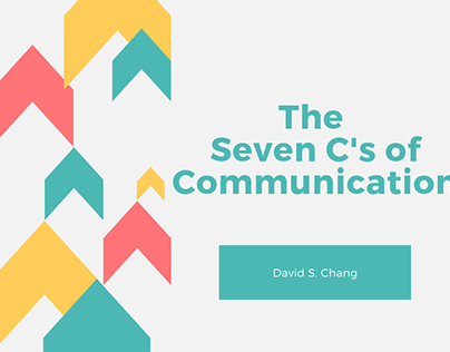 The Seven C's of Communication
