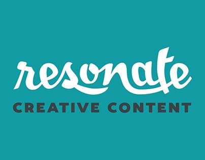 Brand Identity: Resonate Creative Content