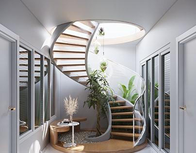 Art Stair - Villa