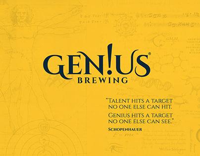 Gen!us Brewing - Identity Design