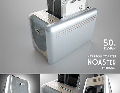 NOASter - custom NAS in toaster design