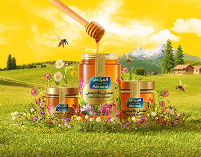 Almarai Natural Honey / Cgi
