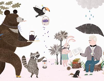 Book illustration 2 (for prenatal care) fafa