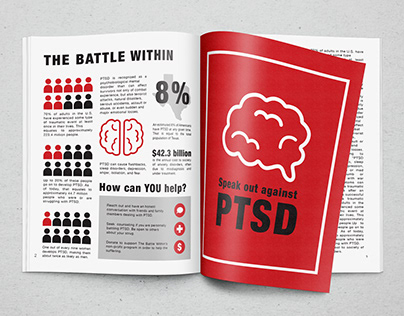 The Battle Within - Infographic Editorial