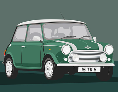 Mini Cooper - Illustration