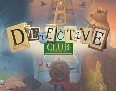 """Detective Club"" board game"